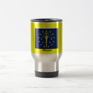 Flag of Indiana Travel Mug