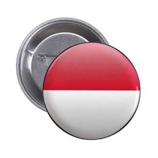 Flag of Indonesia Button