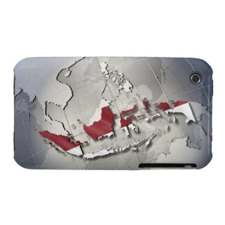 Flag of Indonesia Case-Mate iPhone 3 Cases
