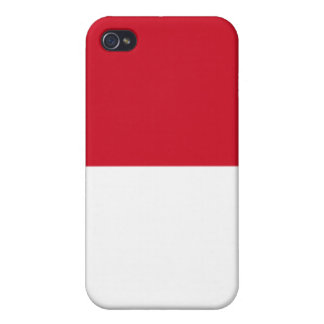 Flag of Indonesia iPhone 4 Cases