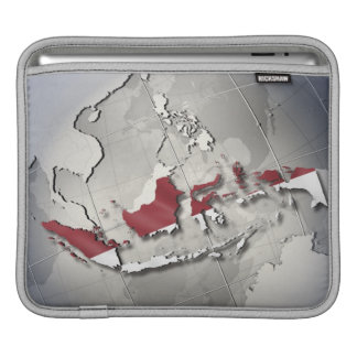 Flag of Indonesia Sleeve For iPads
