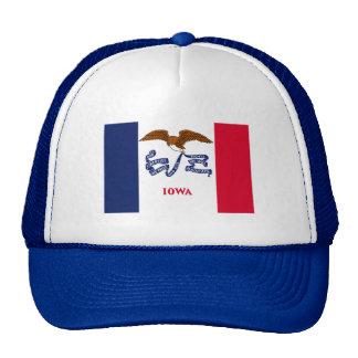 Flag of Iowa Trucker Hats