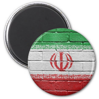 Flag of Iran 2 Inch Round Magnet
