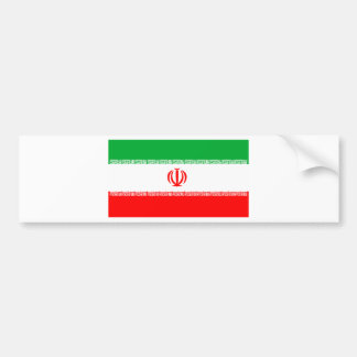 Flag of Iran Bumper Sticker