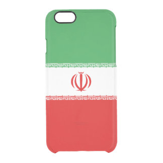Flag of Iran Clear iPhone Case