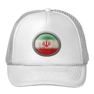 Flag of Iran Disc Trucker Hat