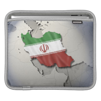 Flag of Iran Sleeve For iPads