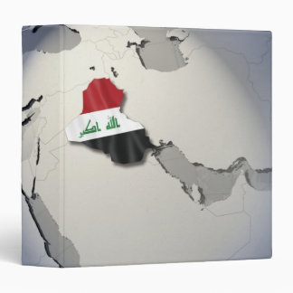 Flag of Iraq Binder
