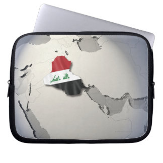 Flag of Iraq Computer Sleeve