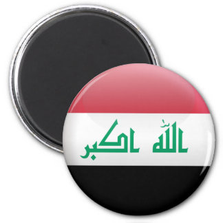 Flag of Iraq 2 Inch Round Magnet