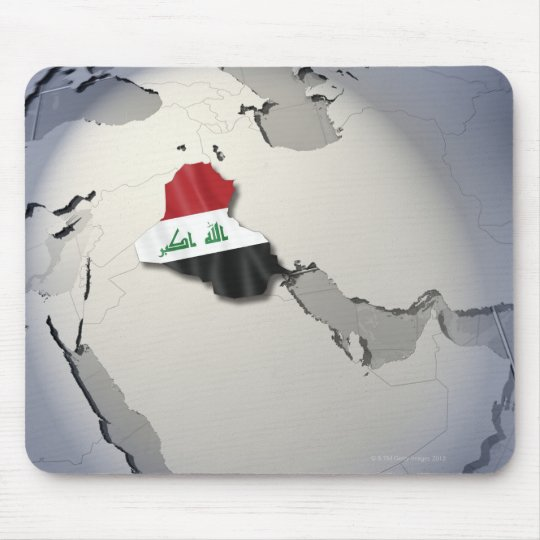 Flag of Iraq Mouse Pad