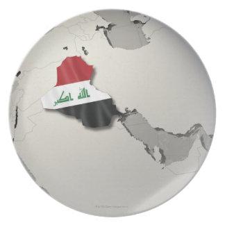 Flag of Iraq Dinner Plates