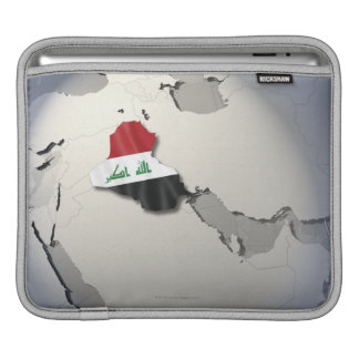 Flag of Iraq Sleeve For iPads