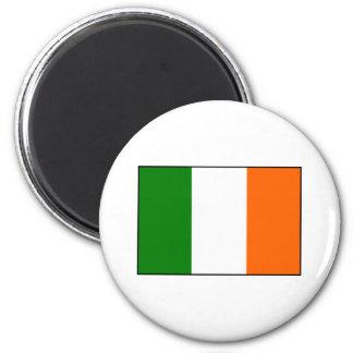 Flag of Ireland 2 Inch Round Magnet