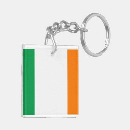 Flag of Ireland Acrylic Keychains