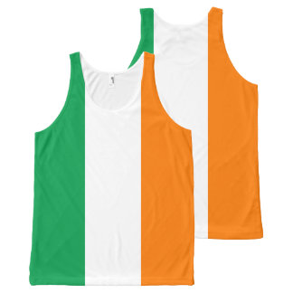 Flag of Ireland All-Over-Print Tank Top