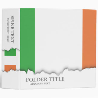 Flag of Ireland Binder
