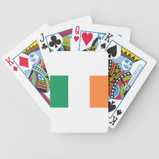 Flag of Ireland (bratach na hÉireann) Bicycle Playing Cards