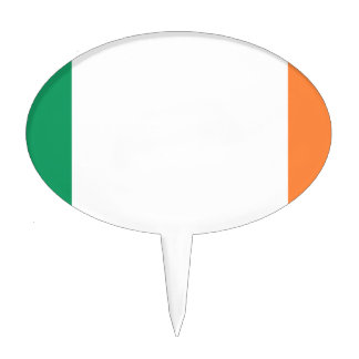 Flag of Ireland (bratach na hÉireann) Cake Topper
