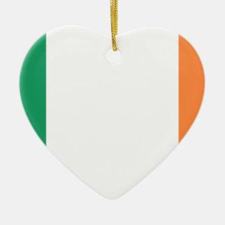 Flag of Ireland (bratach na hÉireann) Ceramic Ornament