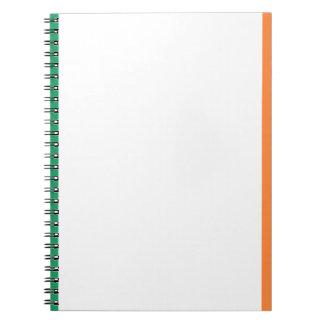 Flag of Ireland (bratach na hÉireann) Notebook