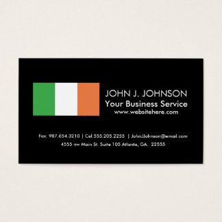Flag of Ireland Business Card