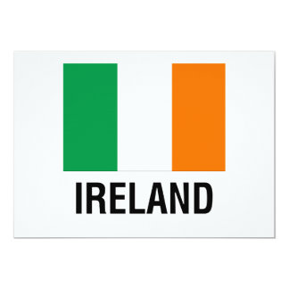 FLAG of IRELAND Card