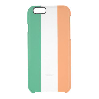 Flag of Ireland Clear iPhone Case