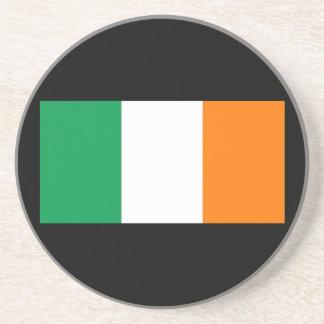 Flag_of_Ireland Beverage Coaster