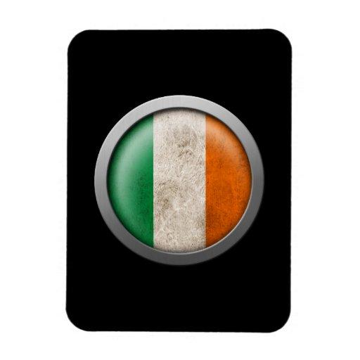 Flag of Ireland Disc Rectangular Magnet