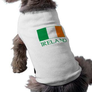Flag of Ireland Dog Tee Shirt