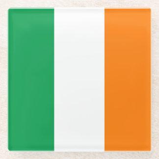 Flag of Ireland Glass Coaster
