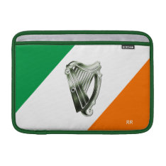 Flag Of Ireland Green Chrome Harp Macbook Air 11