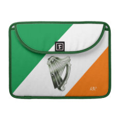 Flag Of Ireland Green Harp Macbook Pro 13