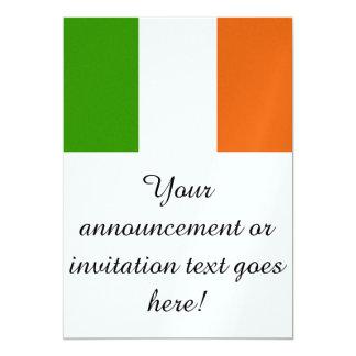 Flag of Ireland 5x7 Paper Invitation Card