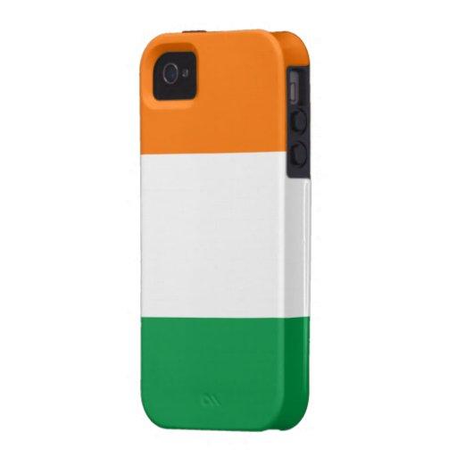 Flag of Ireland iPhone 4 Case-Mate Tough™
