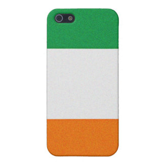 Flag of Ireland - Irish Republic Tri-colour iPhone SE/5/5s Cover