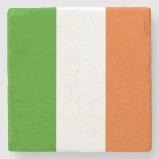 Flag of Ireland: Irish Tricolor Coaster Stone Beverage Coaster