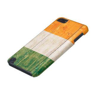 Flag of Ireland on Wood iPod Touch (5th Generation) Cover