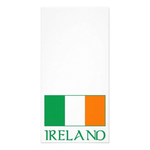Flag of Ireland Photo Card Template
