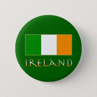 Flag of Ireland Pinback Button
