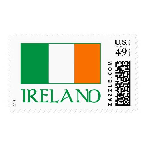 Flag of Ireland Postage Stamp