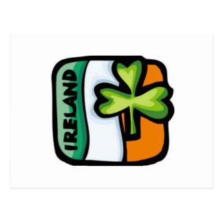 Flag of Ireland Postcard