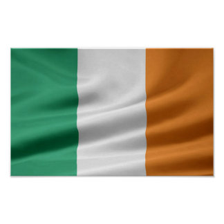 FLAG OF IRELAND Poster