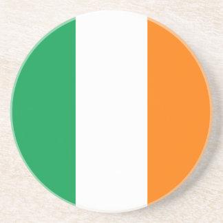 Flag of Ireland Sandstone Coaster