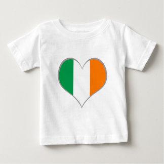 Flag of Ireland Shamrock Baby T-Shirt