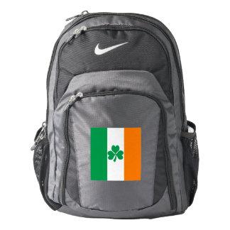 Flag of Ireland Shamrock Backpack