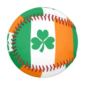 Flag of Ireland Shamrock Baseball