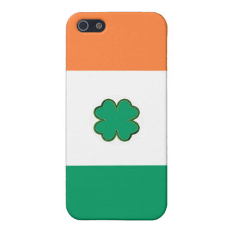 Flag of Ireland Shamrock Cover For iPhone SE/5/5s