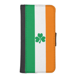 Flag of Ireland Shamrock iPhone SE/5/5s Wallet